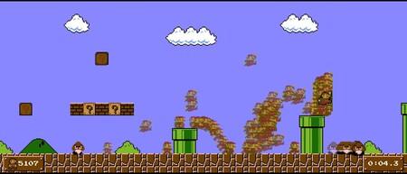 Este vídeo muestra 5.162 intentos y 193 horas en una sola toma para lograr uno de los mejores tiempos de Super Mario Bros.