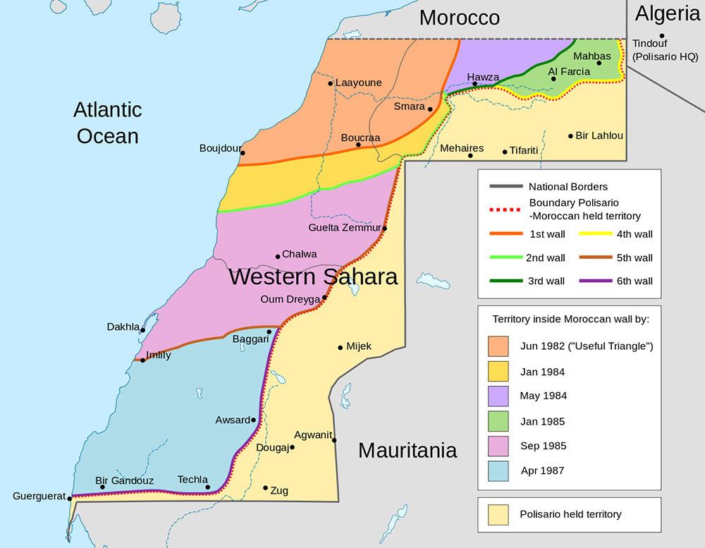 13 Disputas territoriales entre paises