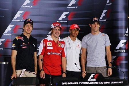 GP de Abu Dhabi de Fórmula 1: Red Bull y McLaren pasean sus monoplazas en unos relajados Libres 1