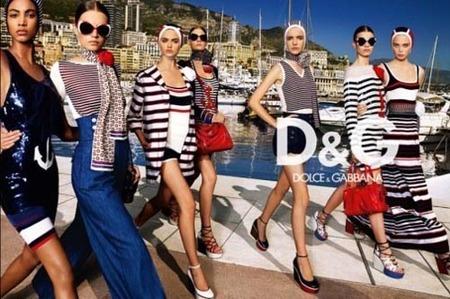 El total look marinero, por Dolce & Gabbana