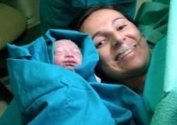 Nació el bebé operado de espina bífida dentro del útero