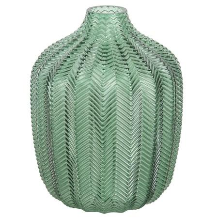 Jarron De Cristal Tintado Verde H18 1000 1 8 172126 1