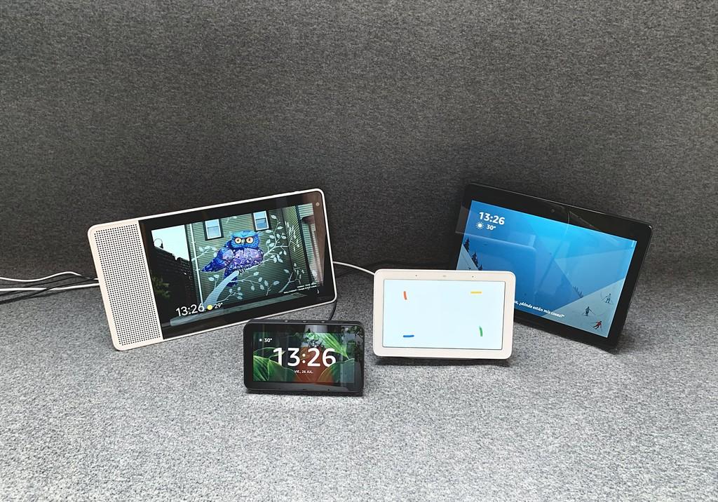 El mejor altavoz inteligente con pantalla: guía de compra y comparativa