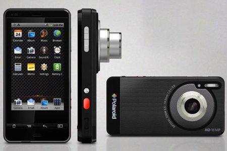 Un teléfono Android con cámara compacta: Polaroid SC1630