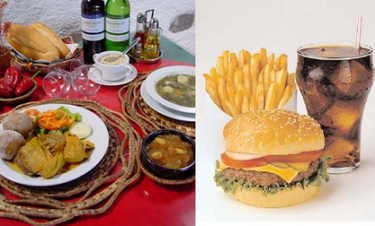 Los leoneses son los españoles que menos disfrutan del fast food