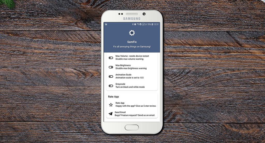 SamFix, un petit utilitaire de personnalisation de l