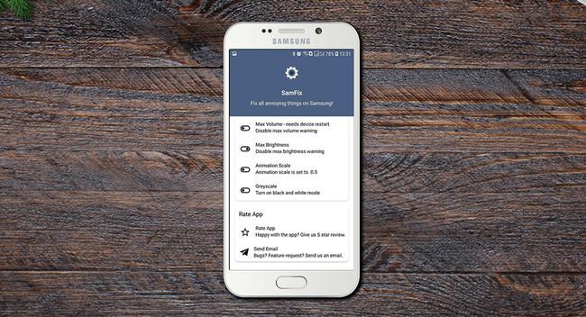 SamFix, una pequeña utilidad para personalizar la interfaz de Samsung