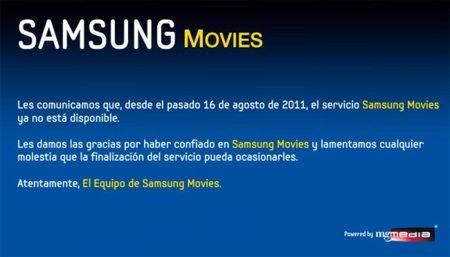 Cierra Samsung Movies en España: otro videoclub online que fracasa