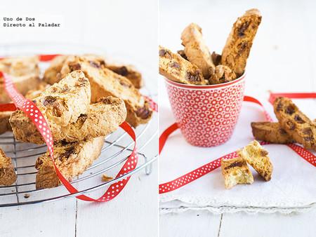 Biscotti de higos y almendras, receta de Navidad