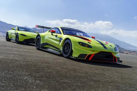 Así es el nuevo Aston Martin Vantage GTE 2018: una preciosa bestia de carreras con motor AMG