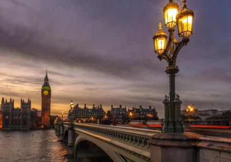 Atardecer en Londres