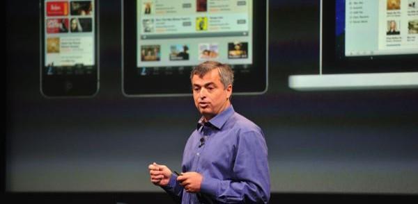 Eddy Cue en la presentación del iPhone 5