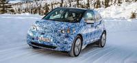 BMW i3, fotografías en el Círculo polar ártico