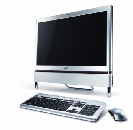 Acer Aspire Z5610, todo en uno táctil para celebrar la llegada de Windows 7