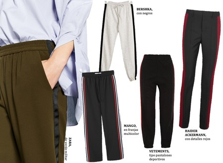 Pantalones Franjas Laterales