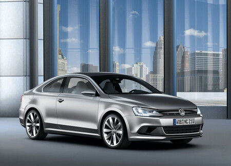 Volkswagen New Compact Coupe Concept Jetta Coupe MK6 4