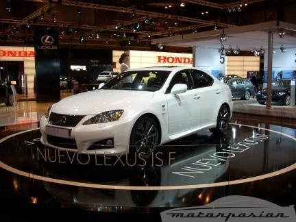 Lexus trae el IS-F de 423 CV al Salón de Madrid
