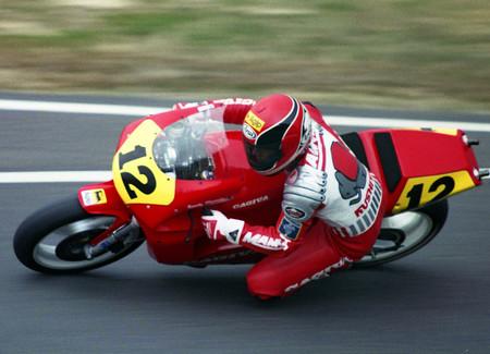 Randy Mamola Cagiva 1989