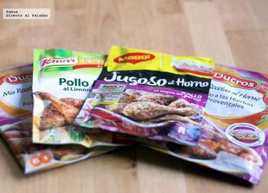 Condimentos para cocinar en bolsa, ¿funcionan?
