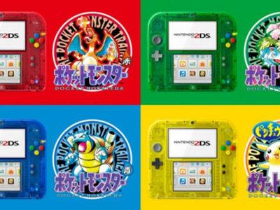 Japón celebrará el 20 aniversario de Pokémon con unas ediciones especiales de Nintendo 2DS