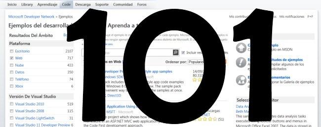 101 ejemplos de código para SharePoint2010