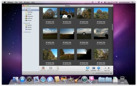 Flickery, navega localmente por tus fotos de Flickr