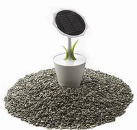 Cargador solar inspirado en un girasol