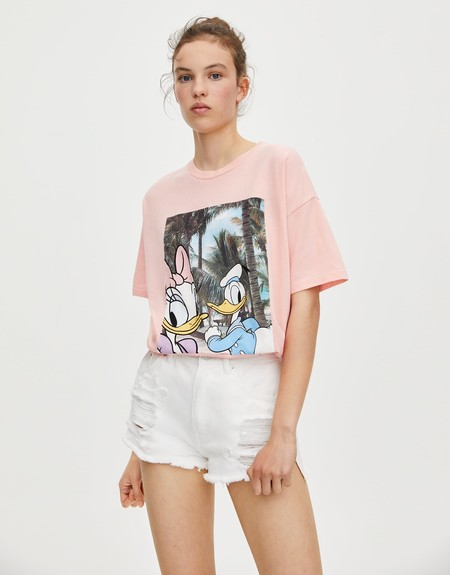 Camiseta Disney Pull Bear 07