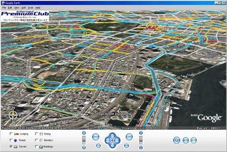 Honda usa Google Earth para mostrarte el estado del tráfico