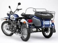 Ural, motos con side-car