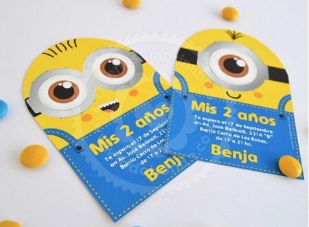 Invitaciones-Minions