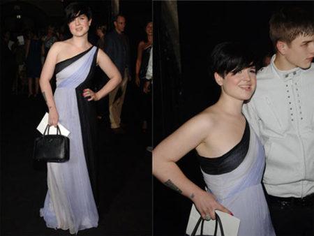 El look de Kelly Osbourne en la Semana de la Moda de Nueva York