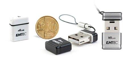 Emtec MiniUSB S100, las memorias USB que no te importará dejar conectadas