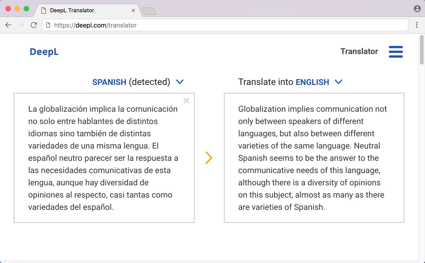 Hemos probado DeepL, el nuevo traductor que deja en evidencia al de Google