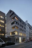 Puertas abiertas: materiales de última generación en este edificio de París