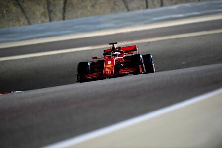 Vettel Sakhir F1 2020