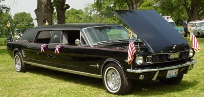 1966 Ford Mustang Limousine by Mustang Restorations