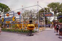 Pac-Man Land, el parque de atracciones de 'Pac-Man'