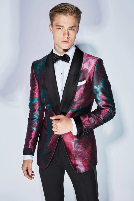 Paolo Stella Tom Browne Color Tuxedo Spring Summer 2018 Trendencias Hombre 2