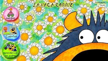 Juegos y cuentos interactivos de la vaca Connie