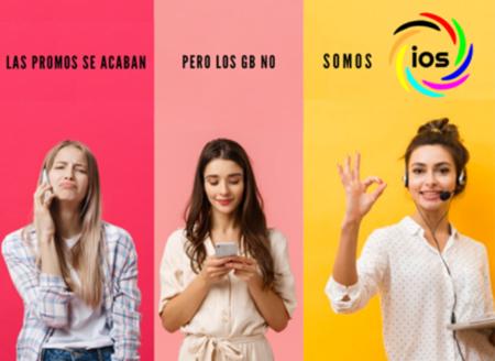 IOS aumenta los gigas de sus tarifas más baratas logrando las mejores condiciones por menos de 10 euros