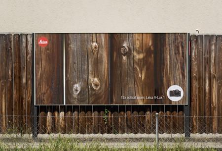 Curiosa campaña publicitaria del zoom 12x de Leica