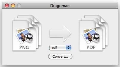 Dragoman el conversor de archivos casi universal para Mac