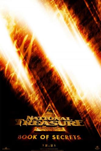 Primer póster de 'National Treasure: Book of Secrets' ('La Búsqueda: El Diario Secreto')