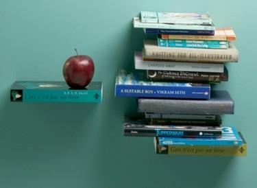 SelfShelf, estantes con forma de libros