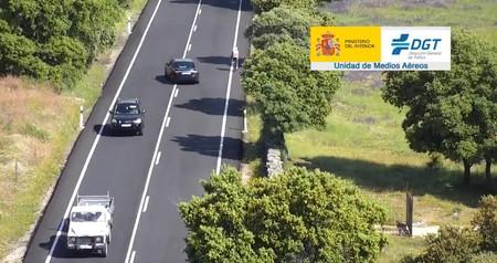 La DGT muestra en vídeo cómo adelantar a un ciclista sin riesgos ni temor a la multa