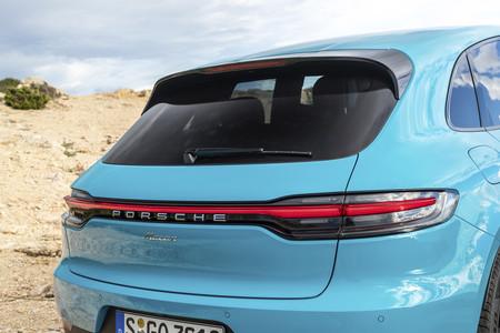 Porsche Macan 2019 ópticas traseras