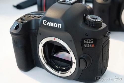 Canon EOS 5Ds R, toma de contacto