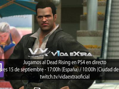 Jugamos en directo al primer Dead Rising en PS4 a las 17:00h (las 10:00h en Ciudad de México) (finalizado)