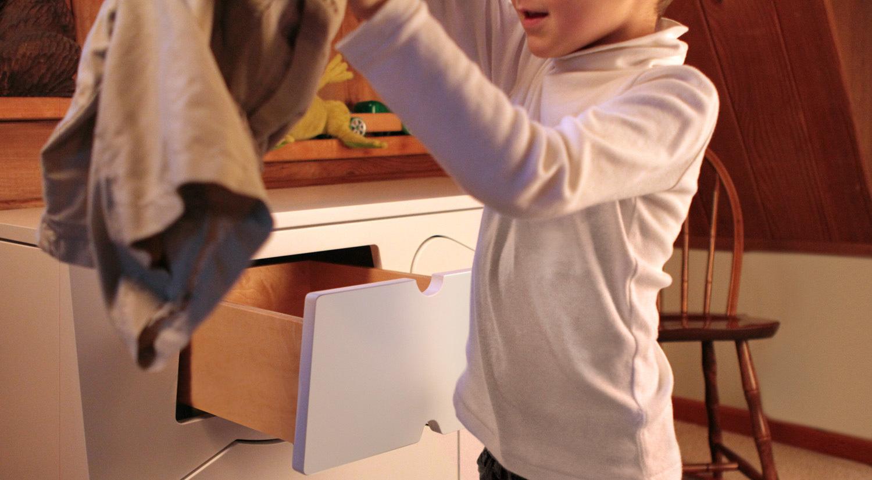 Foto de Una original cómoda para que los niños aprendan a vestirse (1/7)